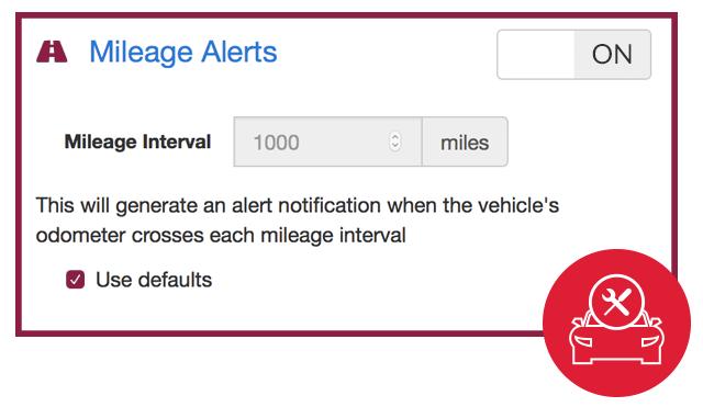 Mileage-based Alerts - ZAZ GPS